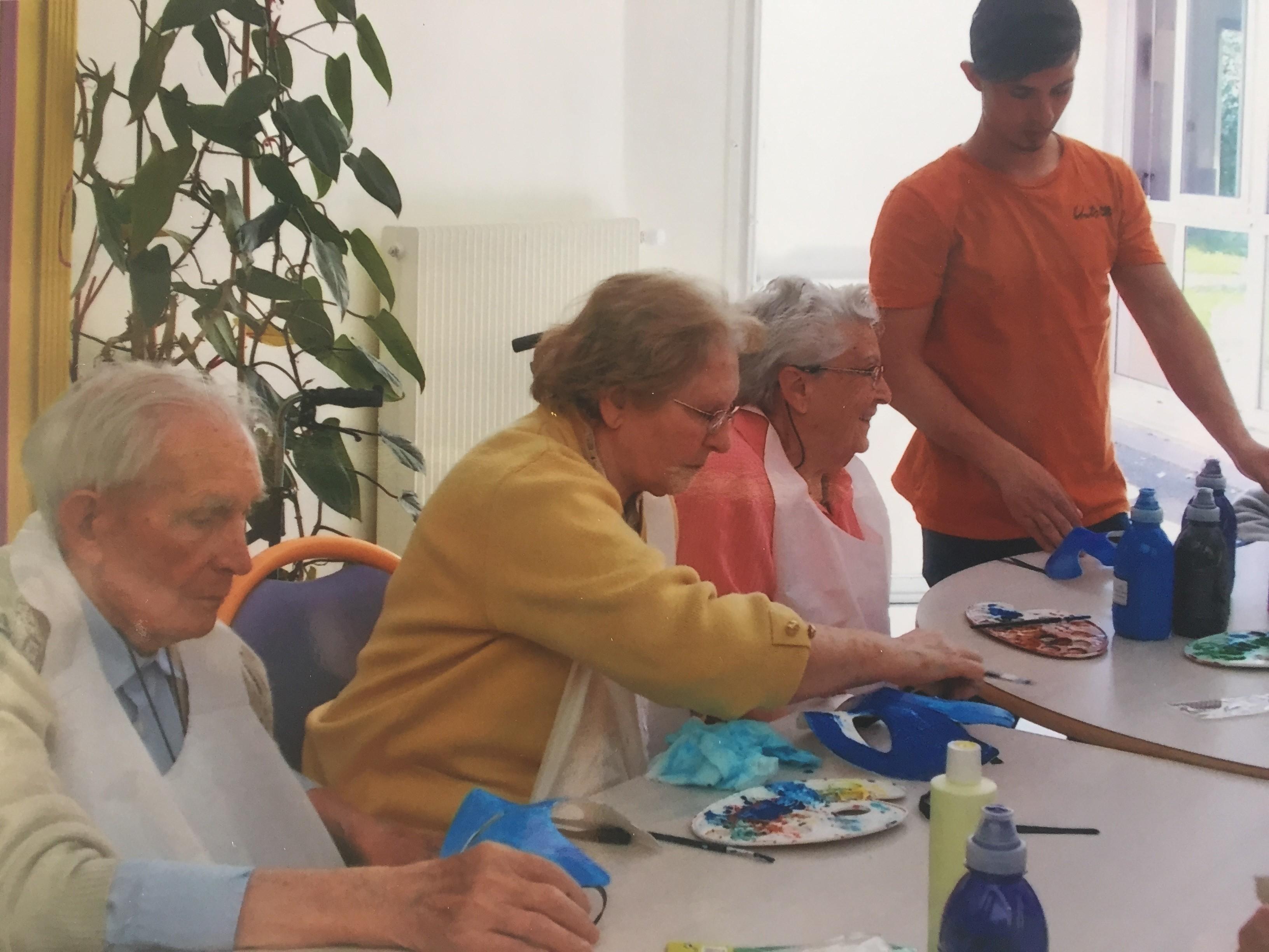 Int gration professionnelle promotion sociale et acc s au for Aide sociale personnes agees maison de retraite