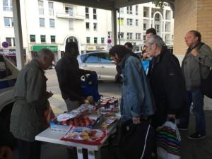 Distribution de repas