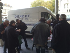 Photo Camion repas debout