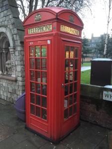 Cabine teléphonique Londres