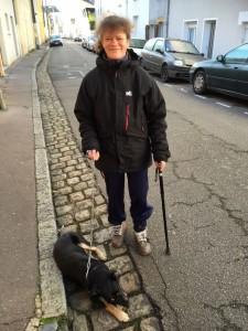Tumtum garde la chienne de Steve